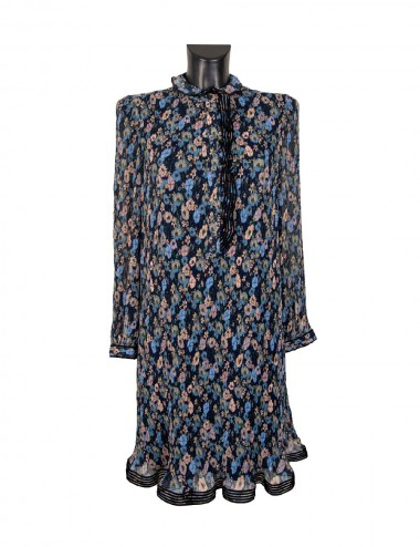 DEVENUE FLORAL DRESS - TORY BURCH